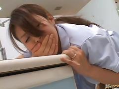 Eimi Ishikura is a horny pharmacy store employee
