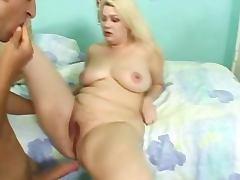 Fat busty bbw plumper fucked