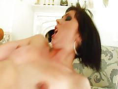 French Milka Manson double anal creampie