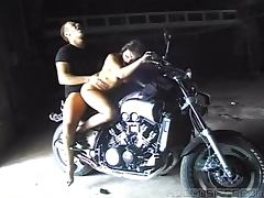 Biker, Big Cock, Biker, Couple, Monster Cock, Outdoor