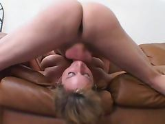 Roxy mouthfucked and licking ass