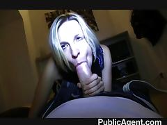 Blonde Fucks to be a model
