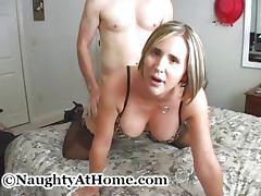 Naughty At Home Blowjob 7