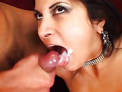 Gia Jordan nailed in both holes