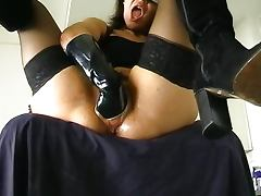 Boots, Babe, Boots, Fetish, Solo, Stockings
