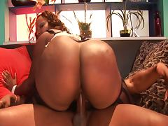 Huge ass bbw skyy black steamy sex