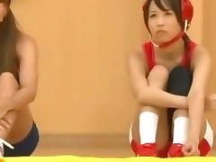 Anxious Schoolgirl groped by her coach