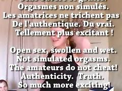 FRENCH amateur Je peux 11 orgasmes en 2h en matant un porno