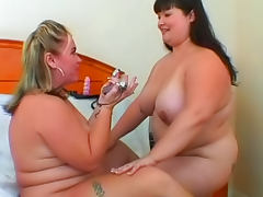 Two sexy fat babes such as Kelly Shibari and Rylee Peyton