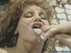 Retro video with naughty Jordan Lee getting fucked doggystyle