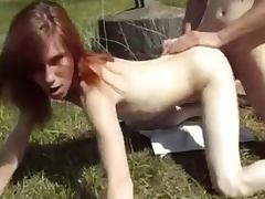 young amateur fucking a stranger outdoor