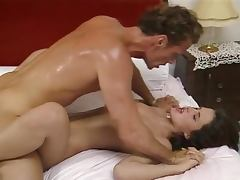A Face Full Of Cum For A Hot Babe Fucking Her Bodyguard