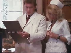Hot Nurse Sucking Cock and Getting Fucked By Doctor
