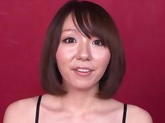 Pretty Mina Wakabayashi having wild sex and gets facialed