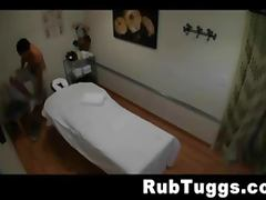 Asian Massage Girl Strokes For A Tip