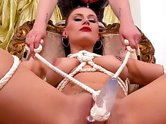 All, BDSM, Bondage, Brunette, HD, Piercing
