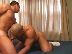 Riddick james fucks bald stud