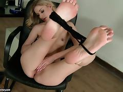 Boss, Beauty, Boss, Fingering, Masturbation, Secretary