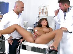 Threesome, Big Tits, Double, Gyno, MMF, Reality