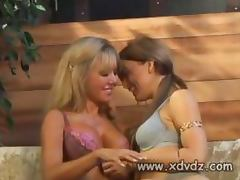 Lesbian Friends Cindy Pucci And Mia Presley Use Their Magical Fingers To Bring Each Other
