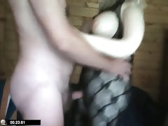 Real sex doll gets fucked