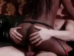 All, Black, Couple, Cowgirl, Interracial, Lick