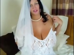 Riding, Bride, Lingerie, Riding, Wedding