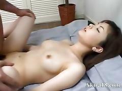 Japanese faggot licking super hairy cunt