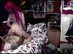 Horny Emo Teen Homemade Sextape