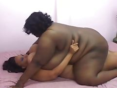bbw ebony in love action