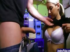 Backroom, Backroom, Blowjob, European, Public, Reality