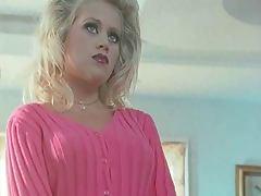 Blonde, Blonde, Facial, Lingerie, Tits