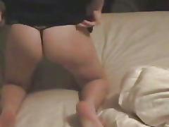 Pregnant Carly fucks and gets a facial