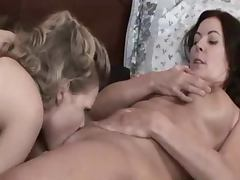Lesbian Seduction, Beauty, Cute, Mature, MILF, Smoking