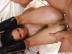 All, Asian, Banging, Boobs, Boots, Brunette