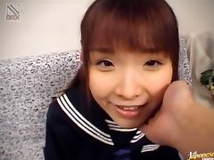 Cutest Japanese Girl Sucking Dick