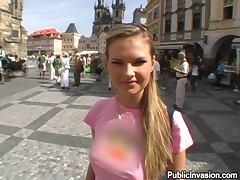 Miniskirt, Amateur, Couple, Cum in Mouth, Cumshot, European