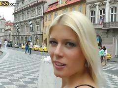 Miniskirt, Amateur, Blonde, Blowjob, Couple, Fucking