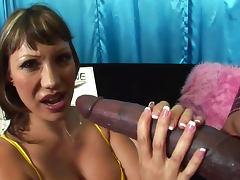 Lingerie, Big Cock, Big Tits, Blowjob, Bus, Cum