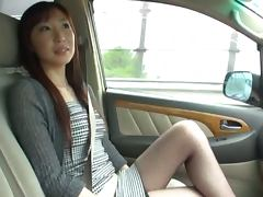 Busty Azusa Nagasawa gets gang banged by her boyfriend and his pals