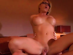 All, Adorable, Beauty, Blonde, Blowjob, Glasses