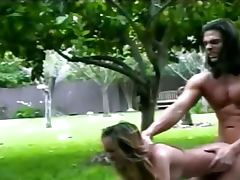 grass garden brutal sex with hooker