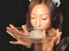 Chihiro Haro 20 loads swallowed in a bowl
