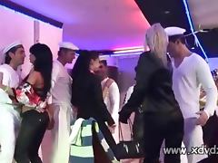 European Sluts Come To A Cruise Ship Party And Get Busy Playing With Sailor Cocks