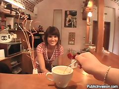 Gorgeous Hairdresser Offers Blowjobs and Haircuts in Reality Porn POV Vid