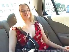 Her First Older Woman and Loving Lesbian Pussy