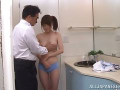 Japanese Teen, Blowjob, Couple, Cumshot, Fingering, Hairy