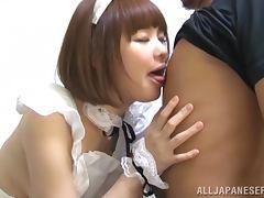 Asian doll lookalike has big beautiful breasts