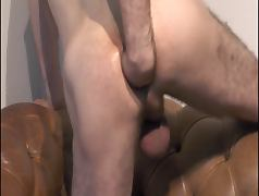 anal self fist in HD from slow fast punching closeup