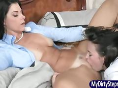 India Summer seduces stepdaughters BF